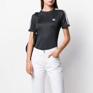 NEW Adidas Originals Short Sleeve Logo Bodysuit